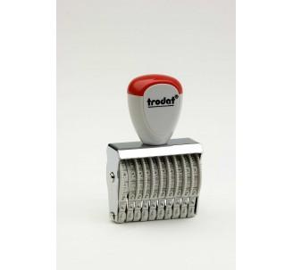 Numéroteur 10 bandes, 3mm de haut ref: 15310