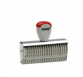 Numéroteur 20 bandes, 3mm de haut ref: 15320