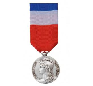 Médaille du travail 20 ans gravée
