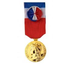 Médaille du travail 30 ans gravée