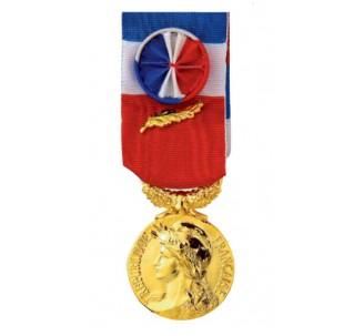 Médaille du travail 35 ans gravée