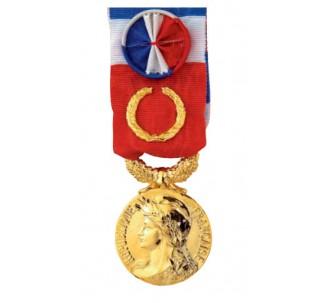 Médaille du travail 40 ans gravée