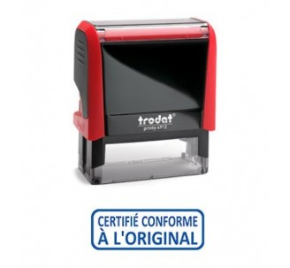 Formule commerciale CERTIFIE CONFORME…. , ref: 4992.09 de la marque Trodat