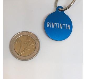 Médaille en alu de couleur bleu